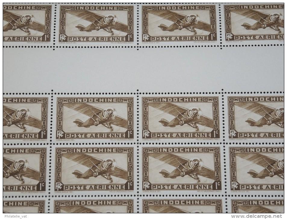 INDOCHINE - N° PA1 En Feuille De 50 Exemplaires - Luxe - Lot N° 5781 - Ungebraucht