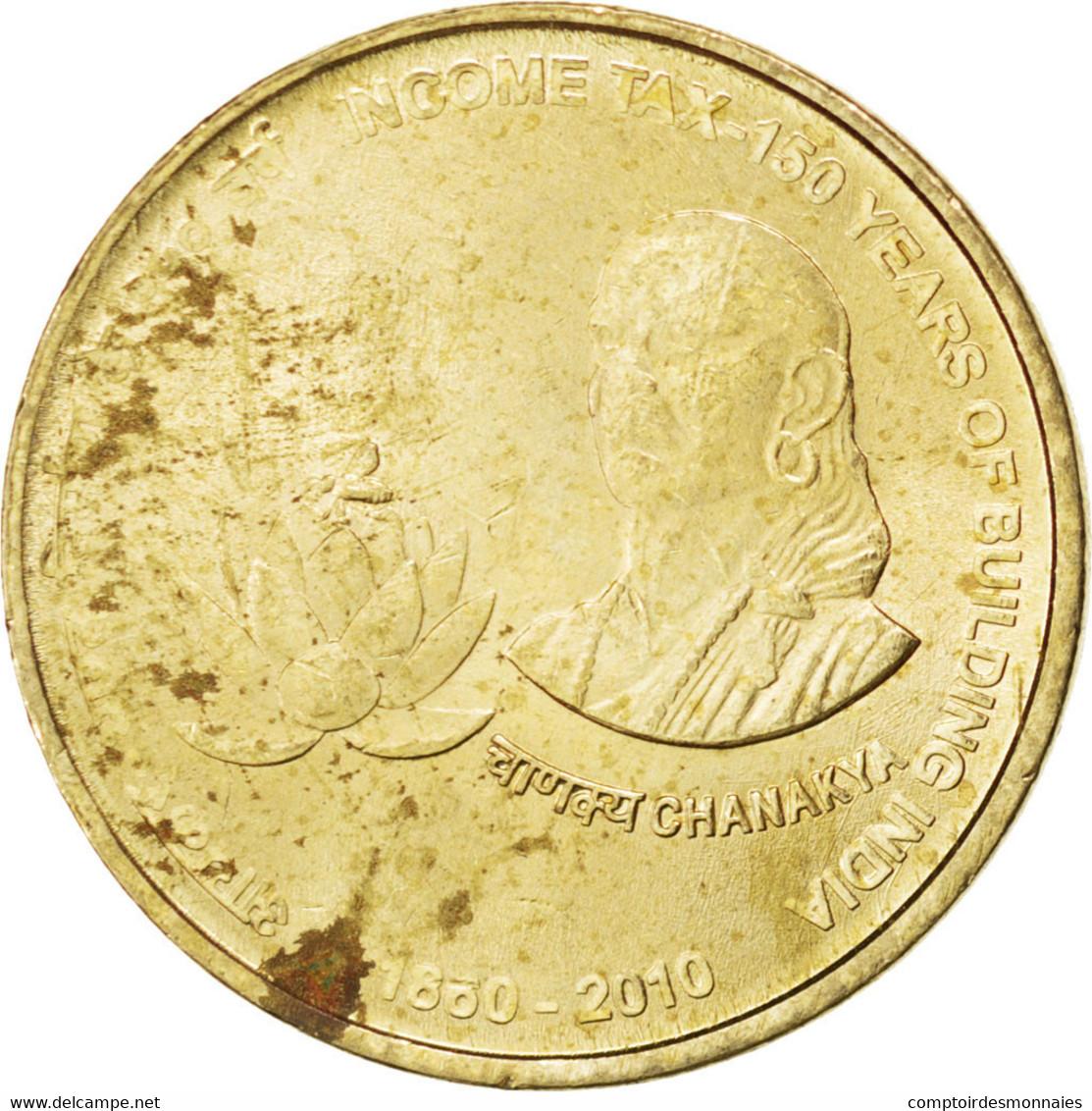 [#86976] Inde, République, 5 Rupees 2010 (C), KM 379 - Inde