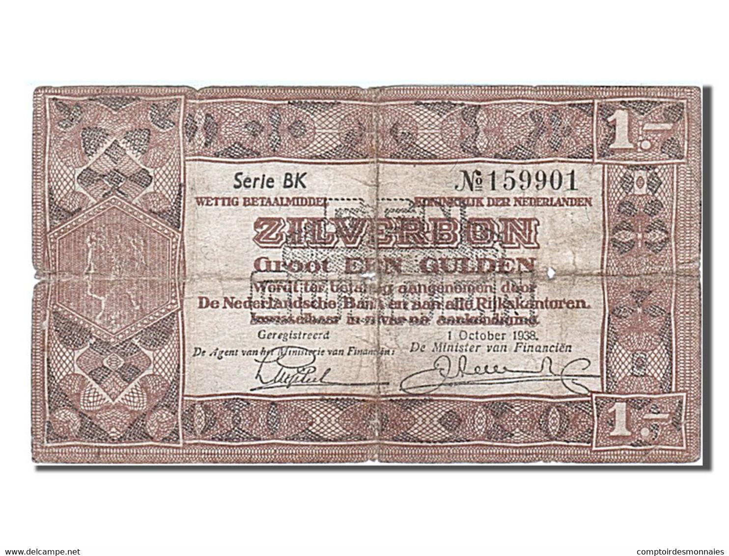 [#256102] Pays-Bas, 1 Gulden, Type 1938 - [2] 1815-… : Regno Dei Paesi Bassi