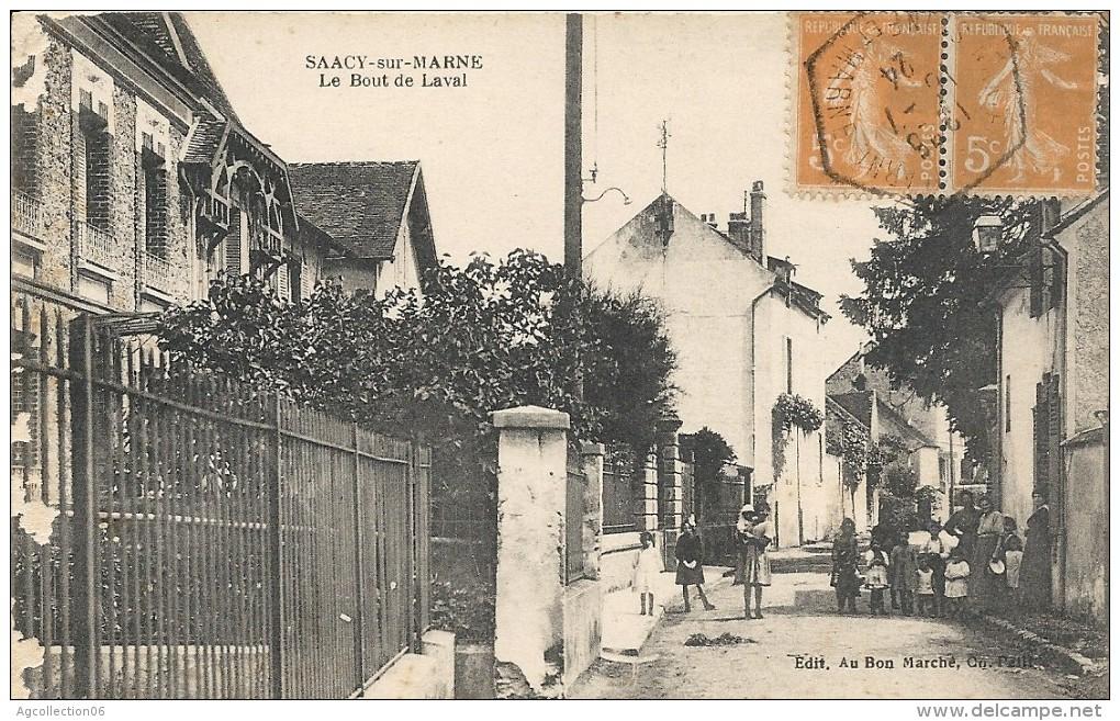 SAACY SUR MARNE. LE BOUT DE LAVAL - France