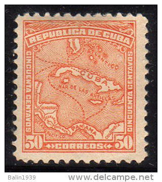 1914 - Cuba - Edif. 201 - MLH - 02 - 40 € - Cuba