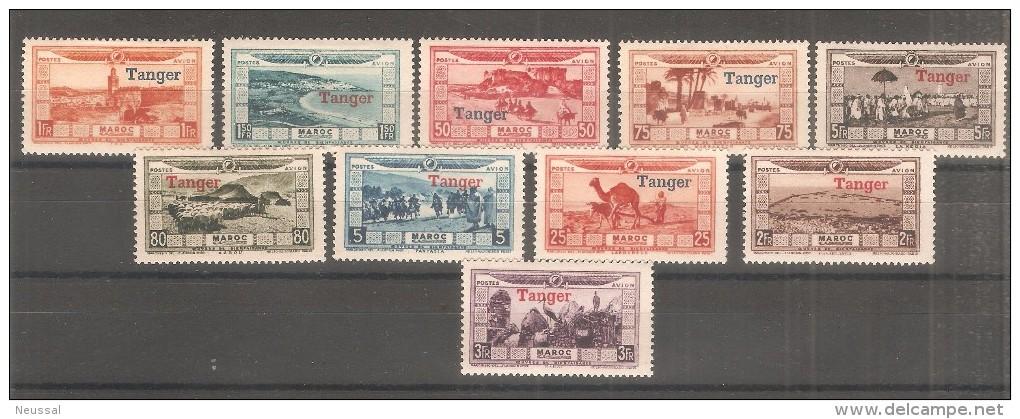 Serie Nº A-22/31 Maroc - Aéreo