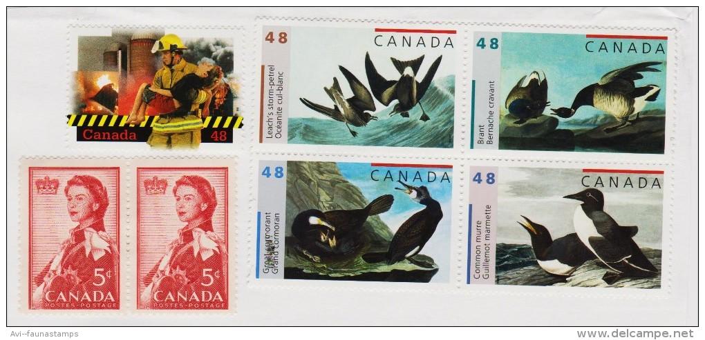 CANADA, 2003 Audubon Birds Used On Piece - Other