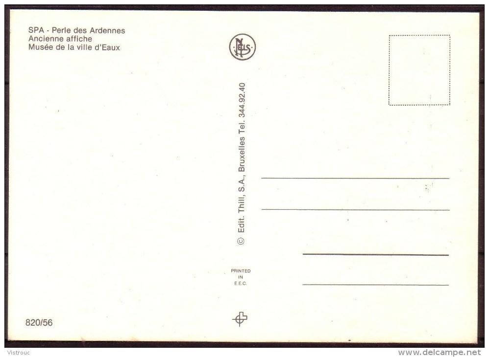 AFFICHE - Reproduction - Publicité Pour L'ELIXIR De SPA, - 1900 - NON Circulé - Not Circulated. - Other