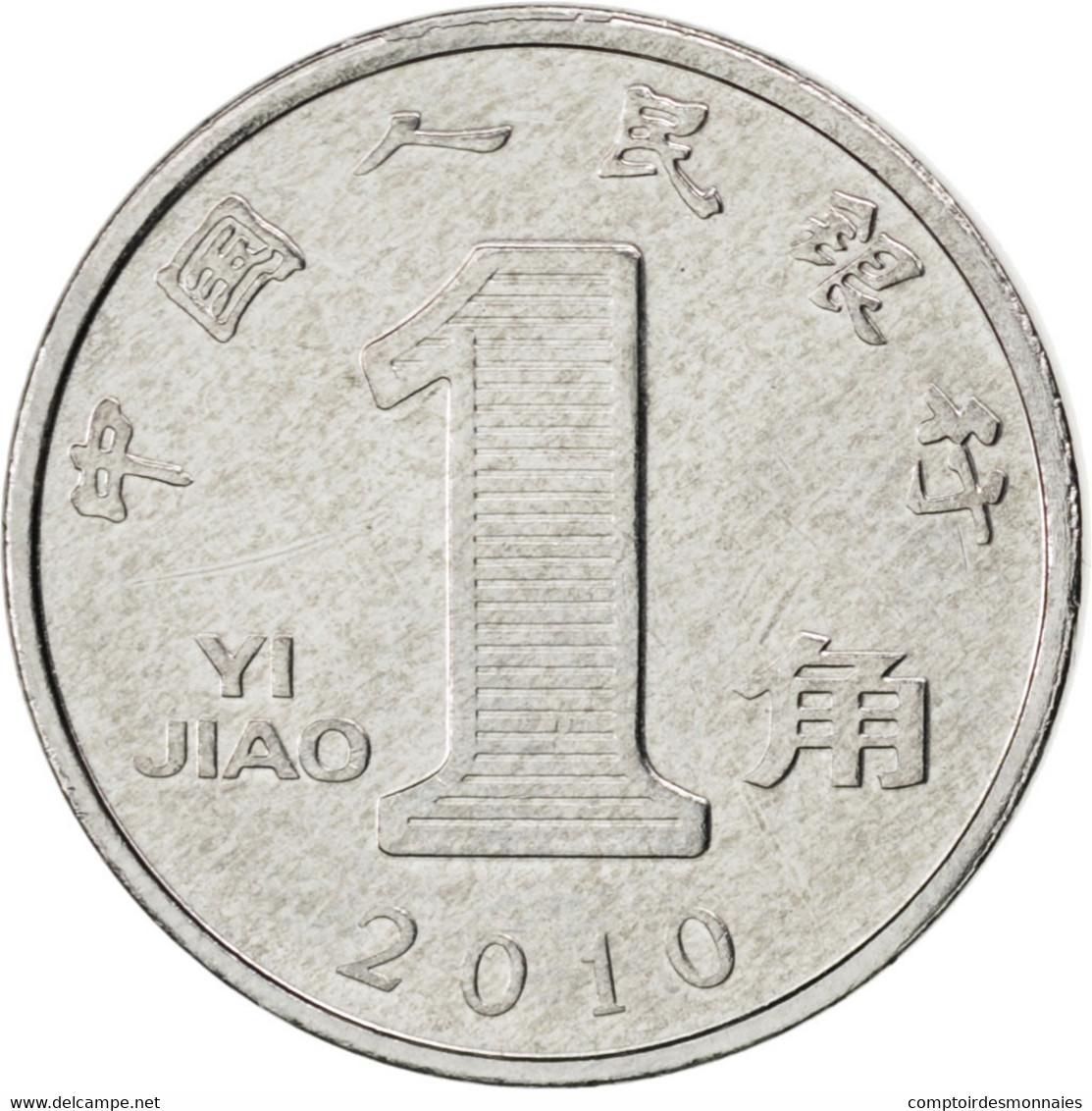 [#87273] Chine, République, 1 Jiao 2010, KM 1210b - Chine