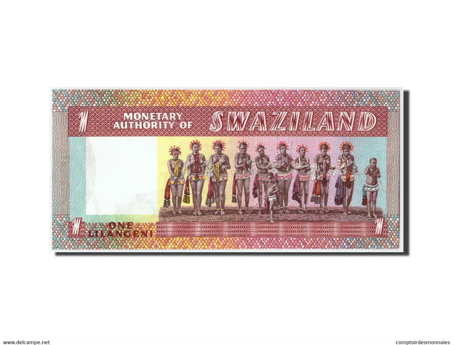 Swaziland, 1 Lilangeni Type Sobhuza II - Swaziland