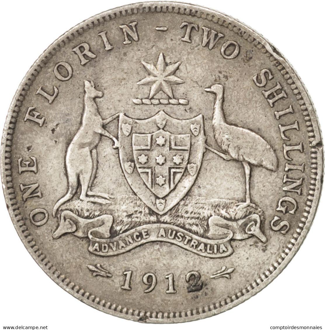Australie, Georges V, 1 Florin 1912, KM 27 - Australie