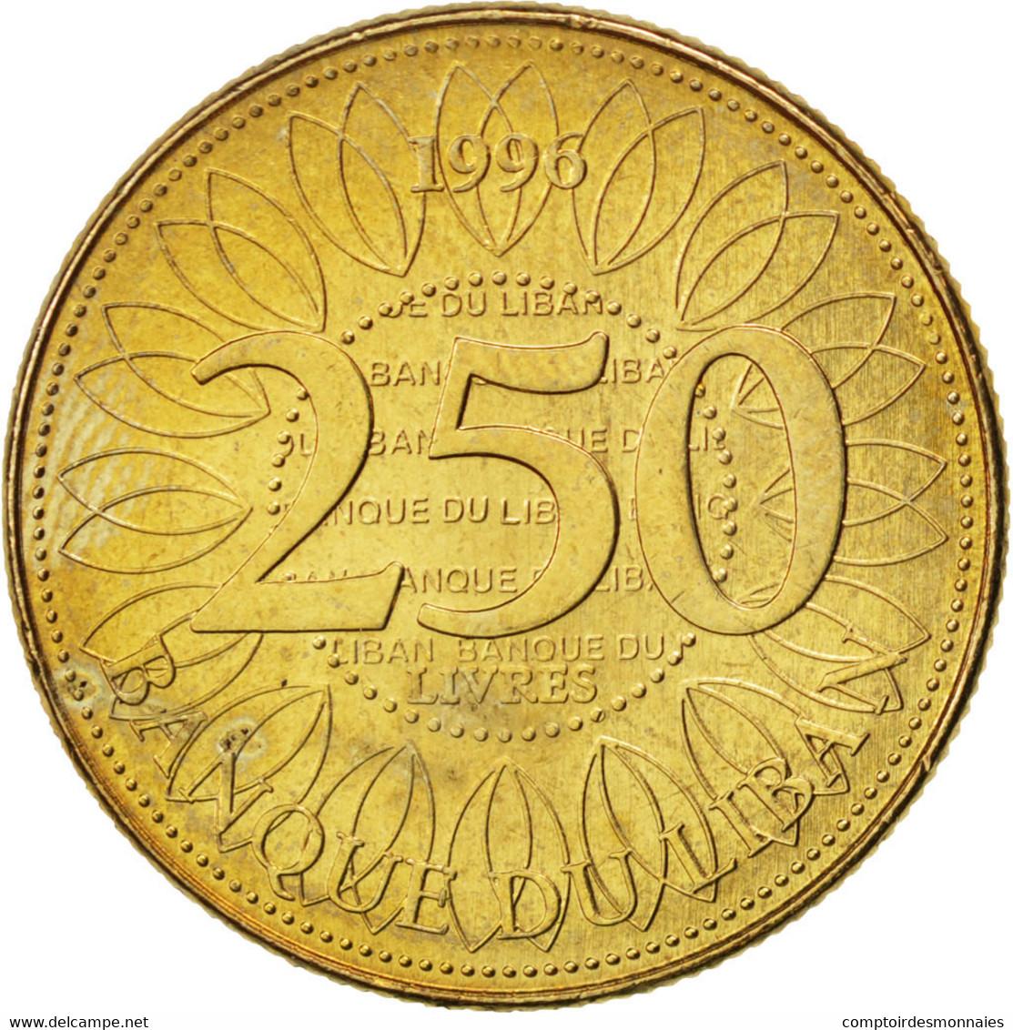 Liban, 250 Livres 1996, KM 36 - Liban