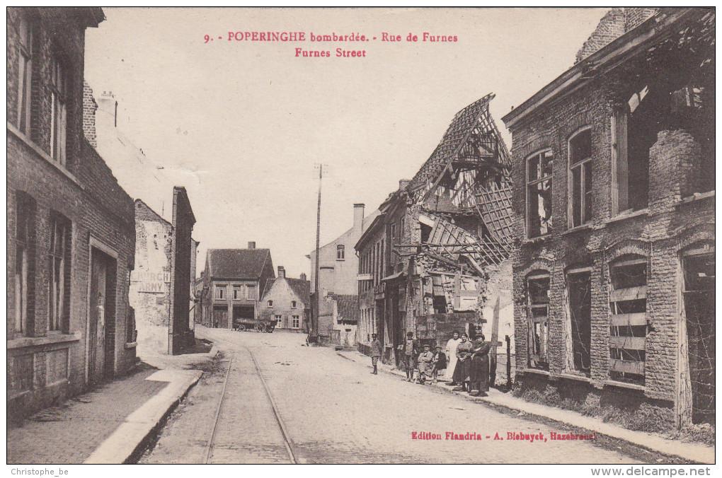 Poperinge, Poperinghe Bombardée, Rue De Furnes (pk16714) - Poperinge