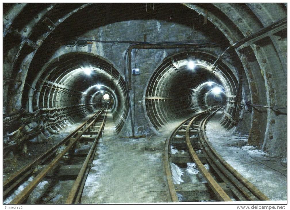 Postcard - The Post Office Underground Railway - Descent To The Mount - 2013. BPMA-PC-20c - Postal Services