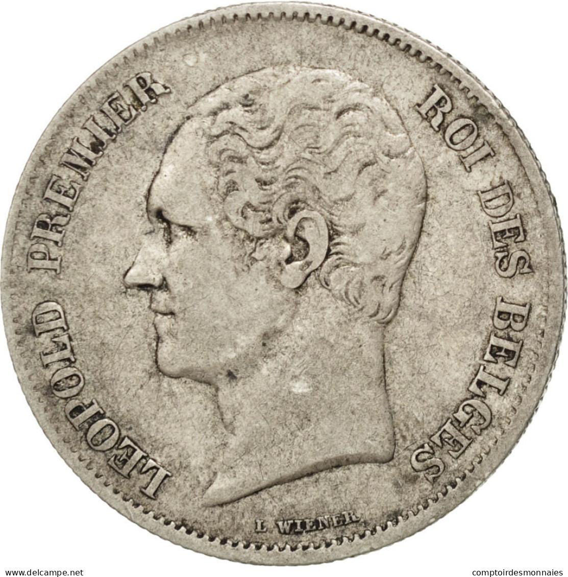 [#42303] Belgique, Léopold I, 2 1/2 Francs Petite Tête 1848, KM 11 - 1831-1865: Leopold I