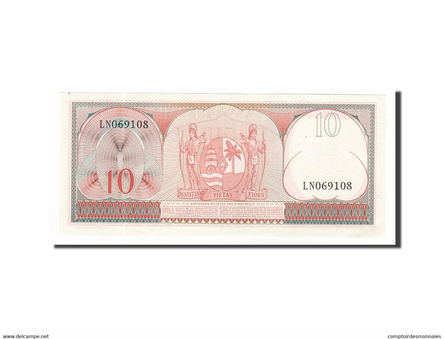Suriname, 10 Gulden Type 1963 - Surinam