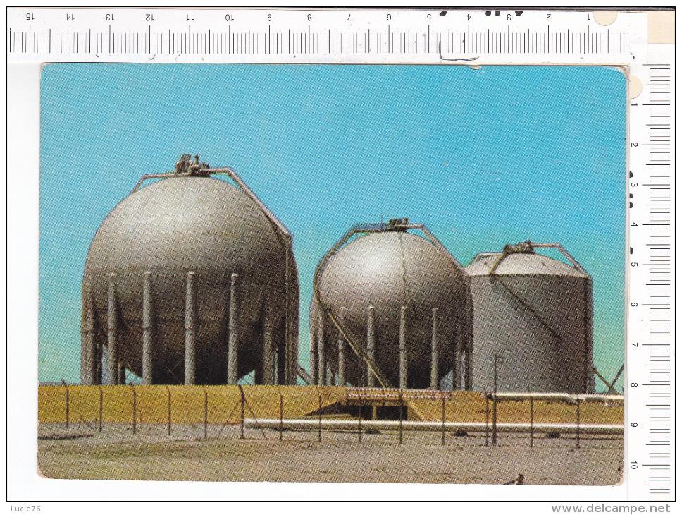 KOWEIT  -  KUWAIT   -  Liquid Petroleum Gas  Storage Tanks,  K.O.C. - Koweït