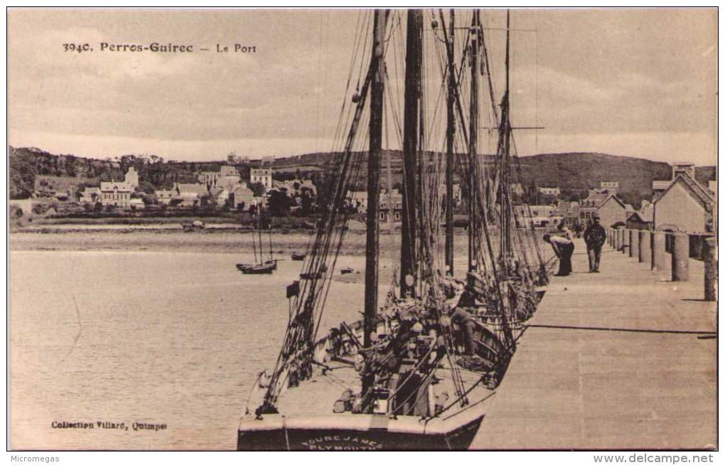PERROS-GUIREC - Le Port - Perros-Guirec