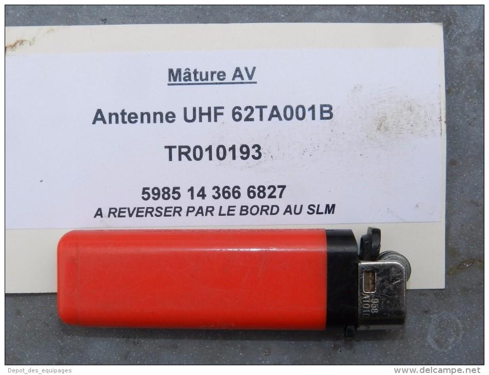 RARE ANCIENNE ANTENNE RADIO UHF NAVIRE MARINE NATIONALE  Super Déco !! - Radio