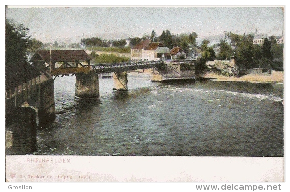 RHEINFELDEN 19914 (PONT ET VUE PANORAMIQUE) 1908 - AG Argovie