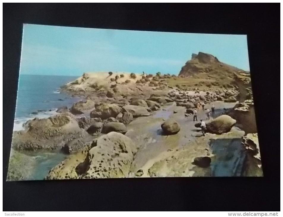 Wind Tide And Sea Waves Have Sculptured Yehliu ....1970 - Formose