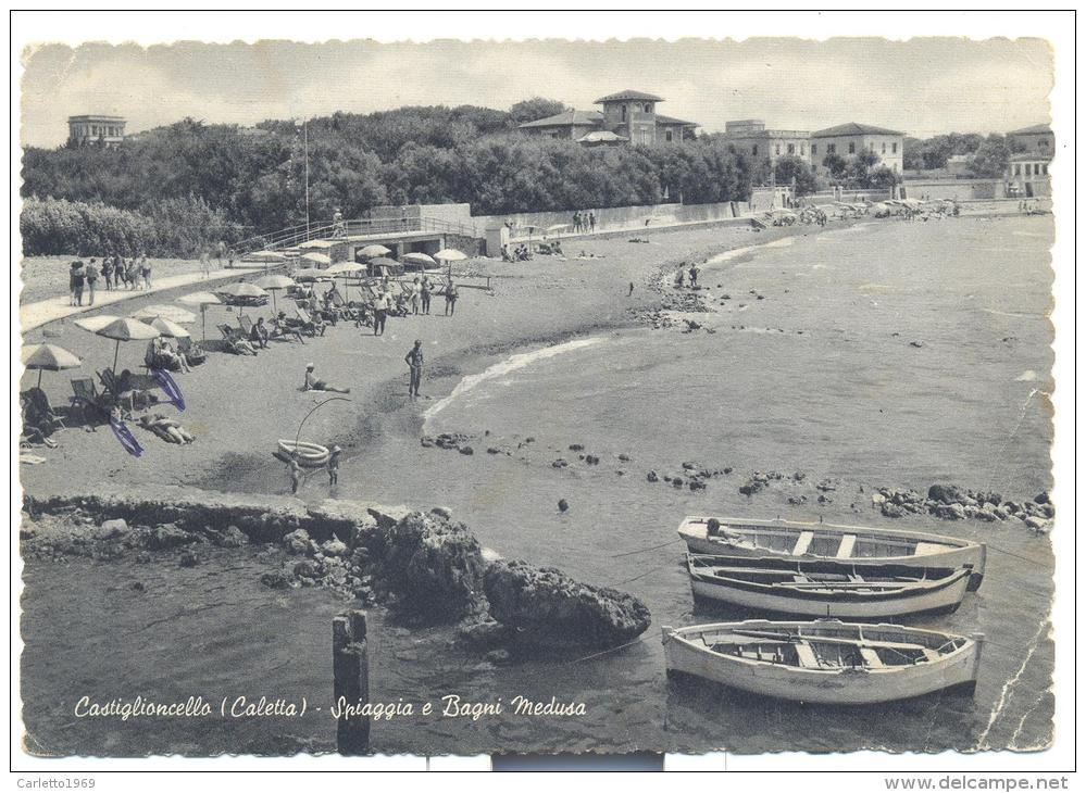 Castiglioncello Calette Spiaggia E Bagni Medusa Viaggiata - Livorno