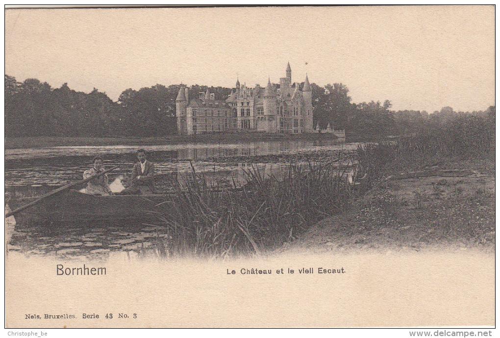 Bornhem, Le Château Et Le Vieil Escaut (pk16967) - Bornem