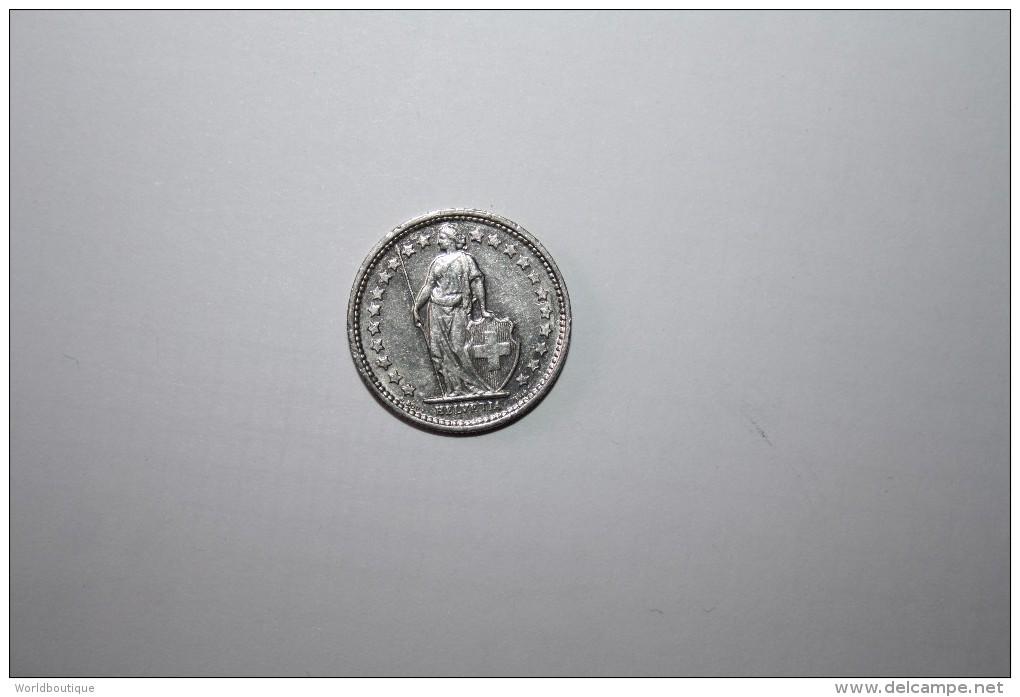 Piece 1/2 Fr Suisse 1971 - Suiza