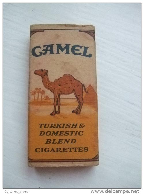 Ancien Petit Paquet CAMEL - Années 1940- - Tabac (objets Liés)