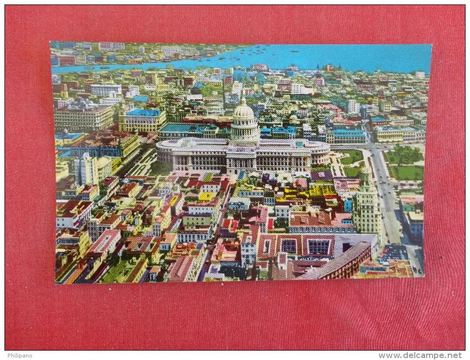> Cuba  Havana  Aerial View Cityl--1809 - Cuba