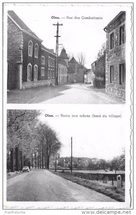 OLNE (4877) Rue Des Combattants + Route Aux Arbres - Olne