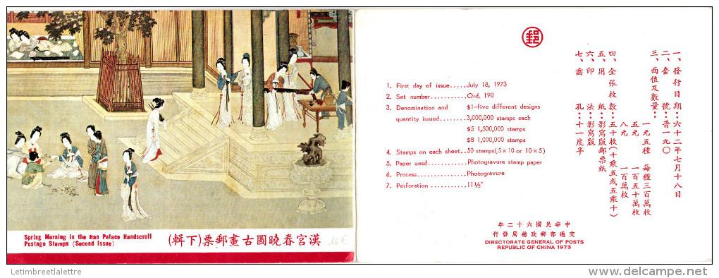 Lot De 5 Cartes - Taiwán (Formosa)