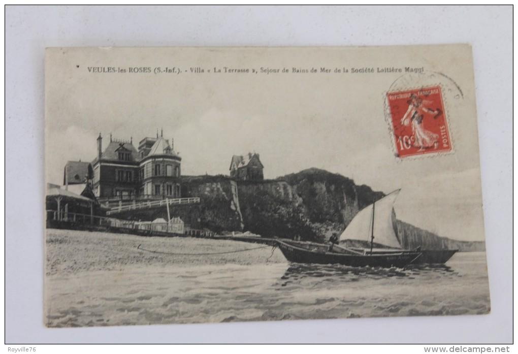 """Veules-les-Roses, Villa """"la Terrasse"""", Séjour De Bains De Mer De La Société Laitière Maggi. - Veules Les Roses"""