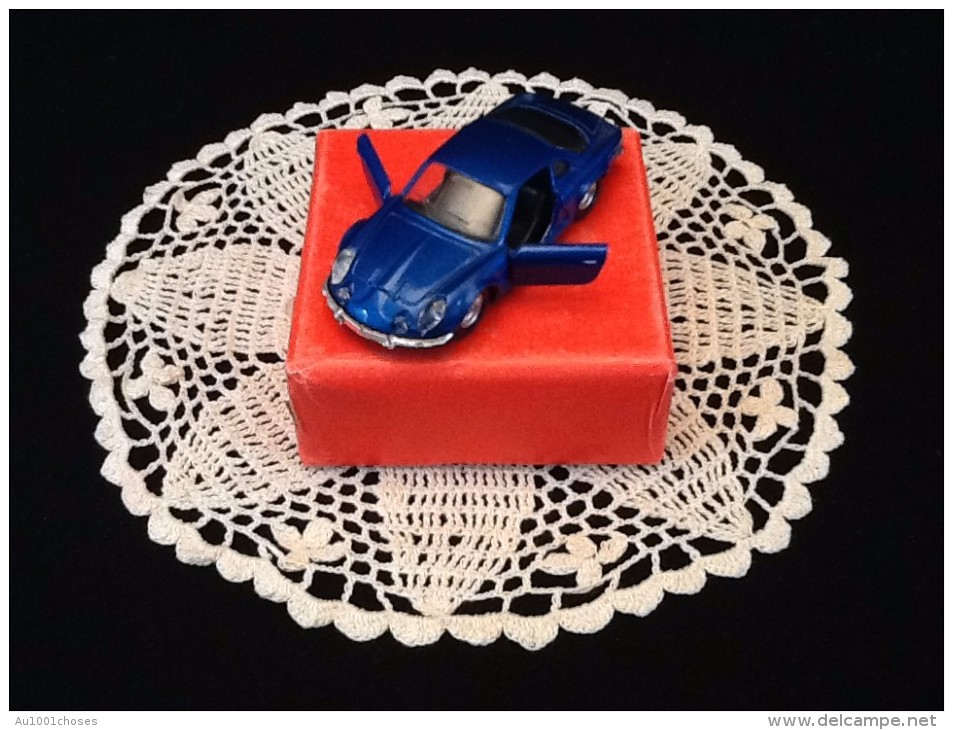 Voiture Miniature Alpine Renault Berlinette - Solido