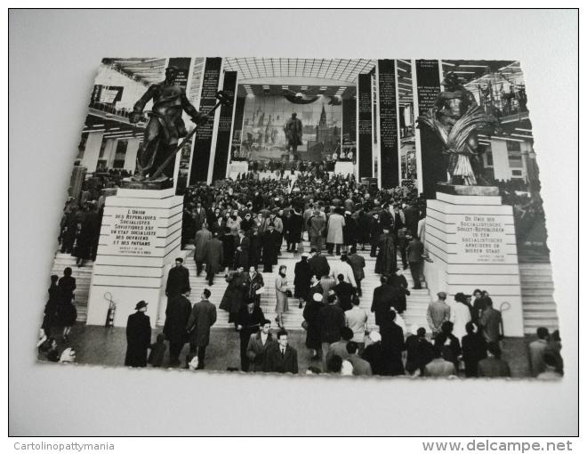 ESPOSIZIONE EXPOSITION INTERNAZIONALE DI BRUXELLES  PADIGLIONE U.R.S.S. ENTRATA - Esposizioni