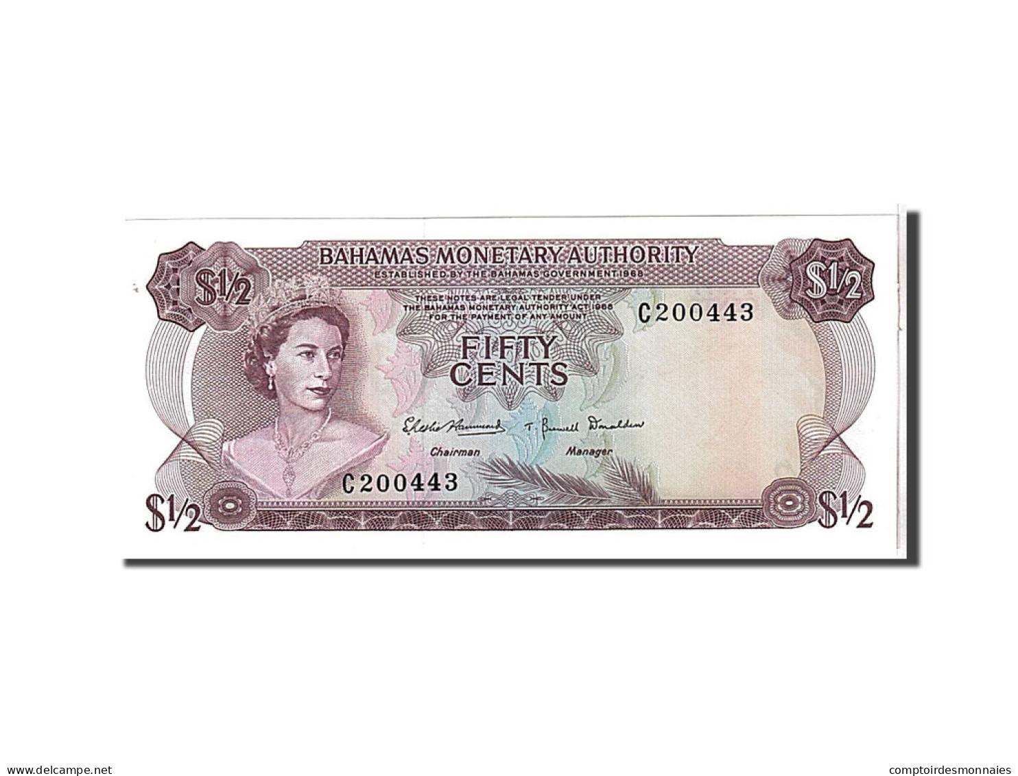 Bahamas, 1/2 Dollar Type 1968 - Bahamas