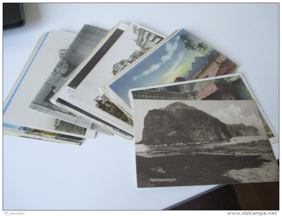 AK 29 Stück. Europa Verschiedene Motive! Ab 1910er Bis In Die 1950er Jahre. Ungelaufen!! - Ansichtskarten