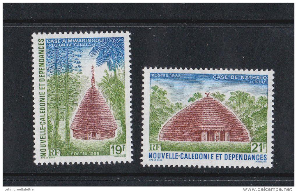 Nouvelle Calédonie N° 553 Et 554** - New Caledonia