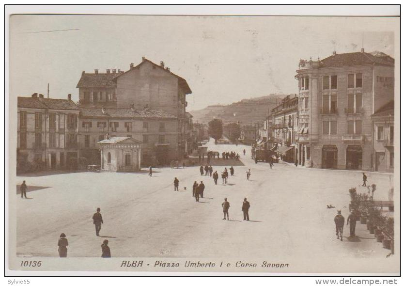 ALBA-Piazza UMBERTO 1 E Corso Savona- - Italia