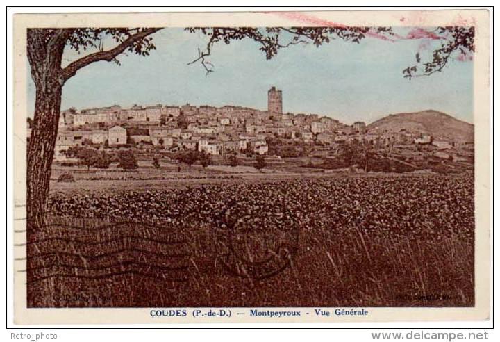 Coudes - Montpeyroux - Vue Générale - France