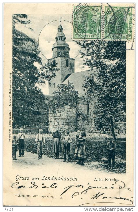ALLEMAGNE -  Sondershausen : Grüss Aus - Sondershausen