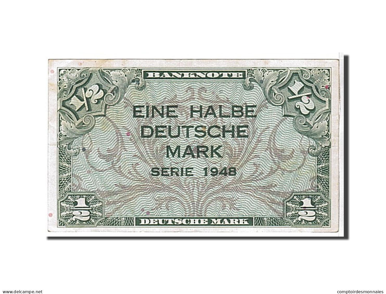 Allemagne, 1/2 Mark Type U.S Army - [ 5] 1945-1949 : Occupation Des Alliés