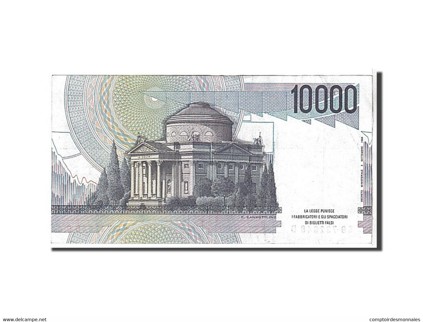 Italie, 10 000 Lire Type 1984 - [ 2] 1946-… : République