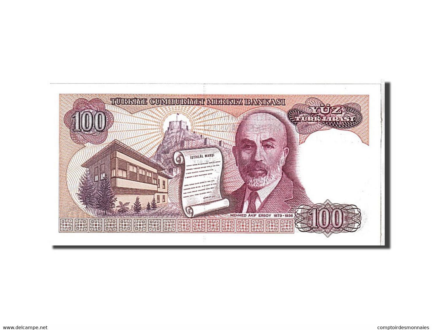 Turquie, 100 Lira Type 1984 - Turkije