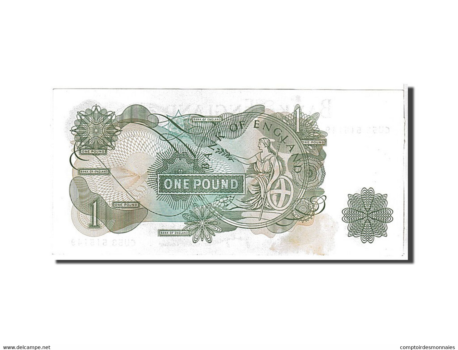 [#111073] Grande Bretagne, 1 Livre Type 1970-77 - 1 Pound