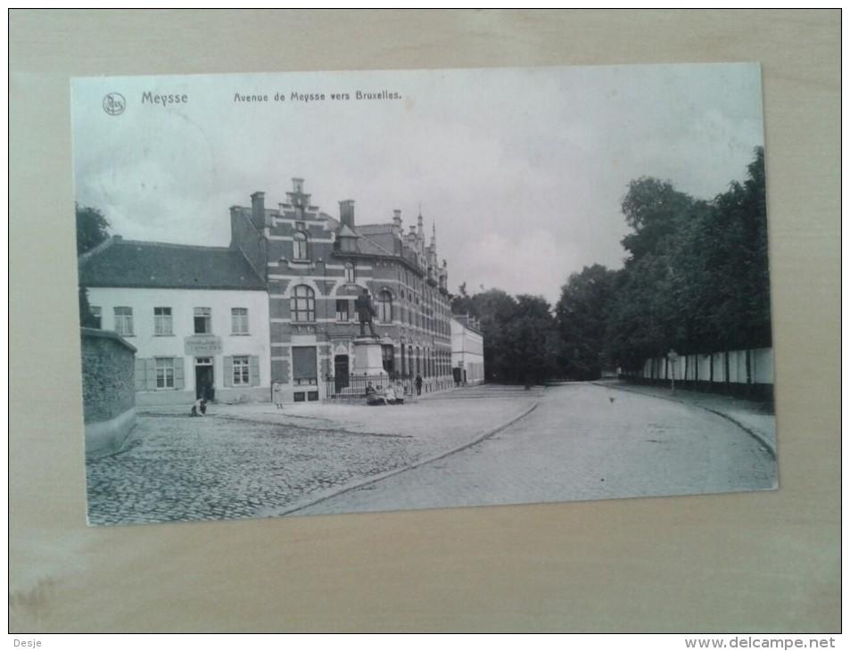 Meysse Avenue De Meysse Vers Bruxelles - Meise