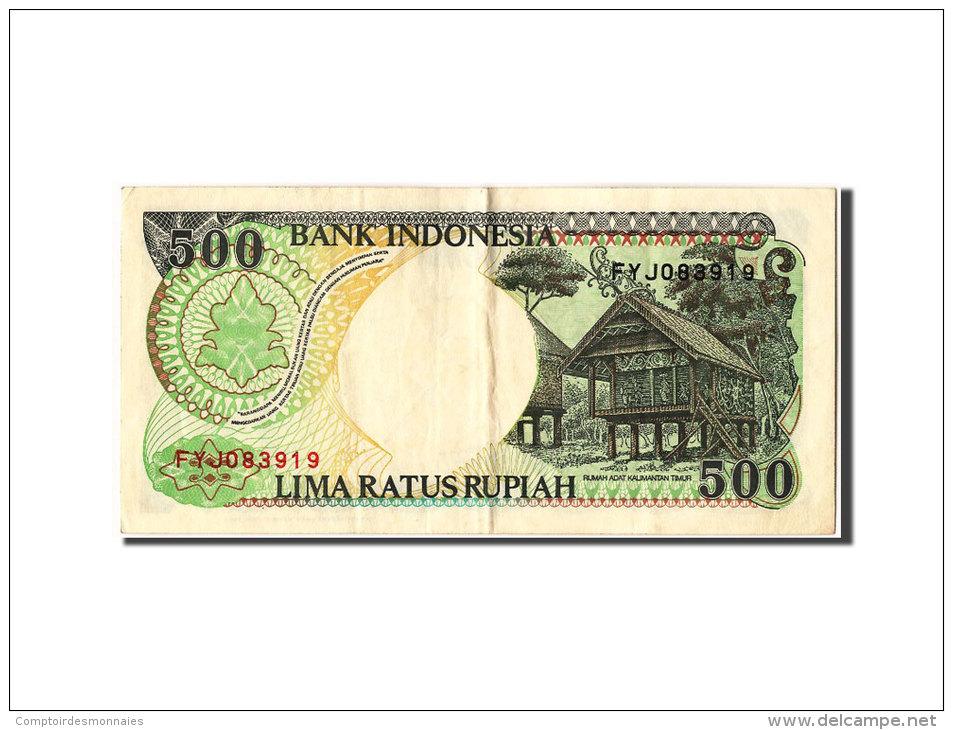 [#304866] Indonésie, 500 Rupiah Type Orang Outan - Indonésie