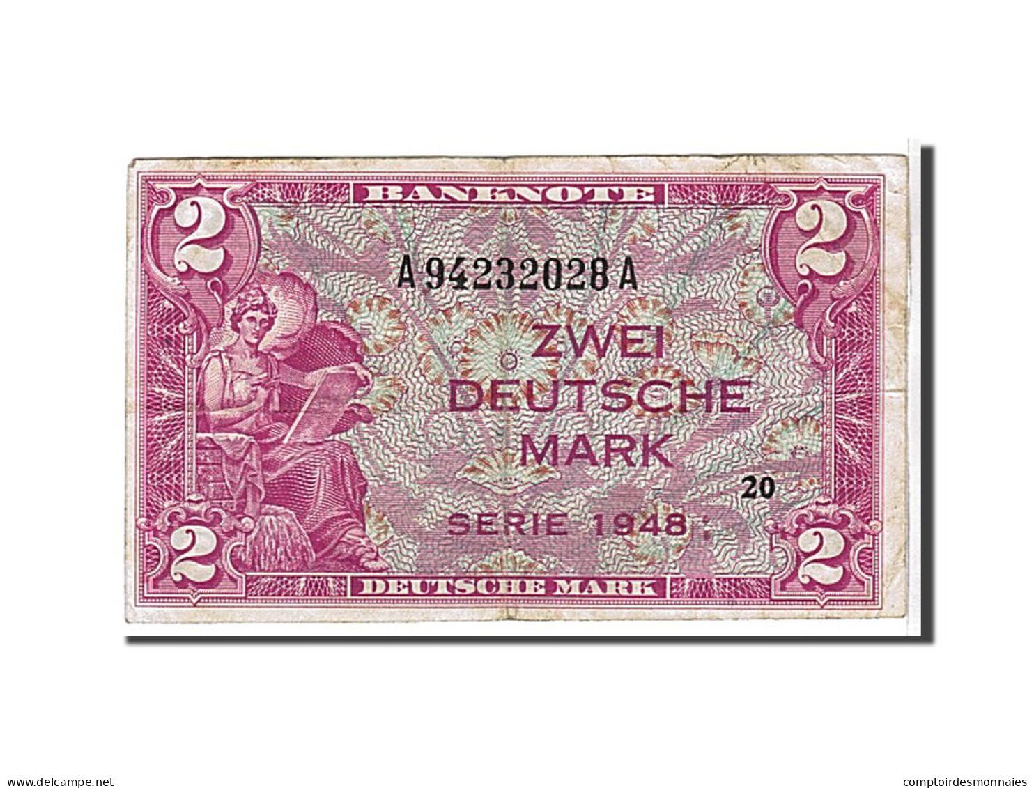 [#108774] Allemagne, 2 Mark Type U.S Army - [ 5] 1945-1949 : Occupazione Degli Alleati