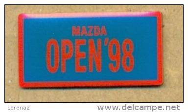 13-aut143. Pin Mazda Open'98 - Otros