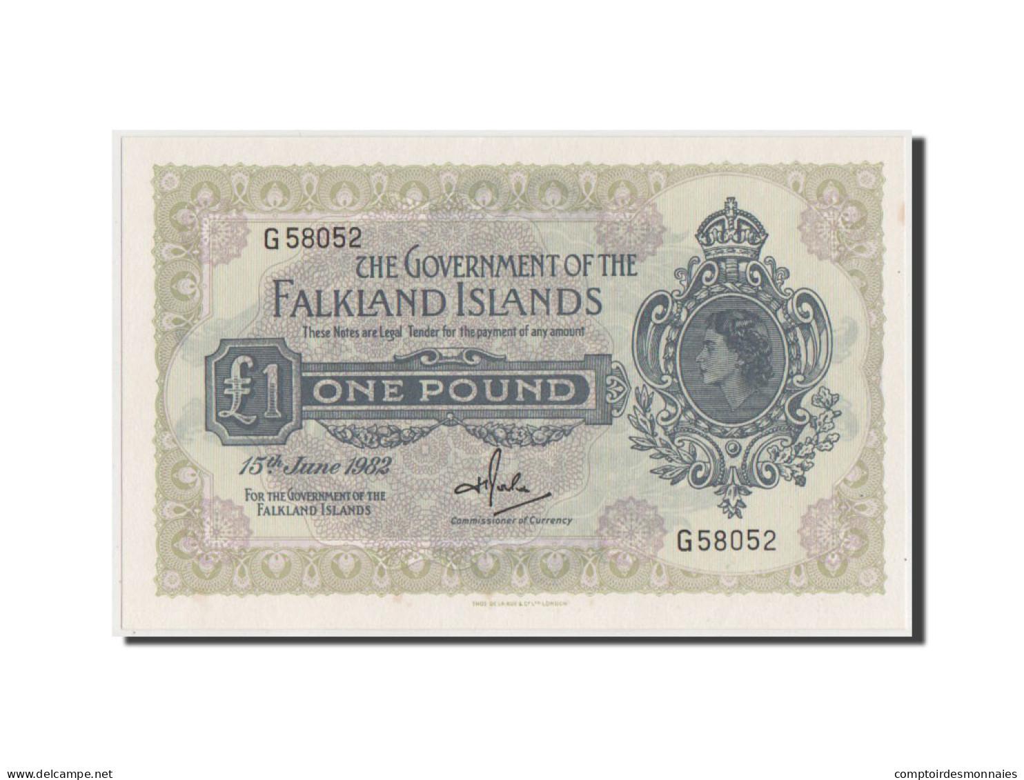 [#42823] Iles Falkland, 1 Pound 1982, Pick 8e - Falkland