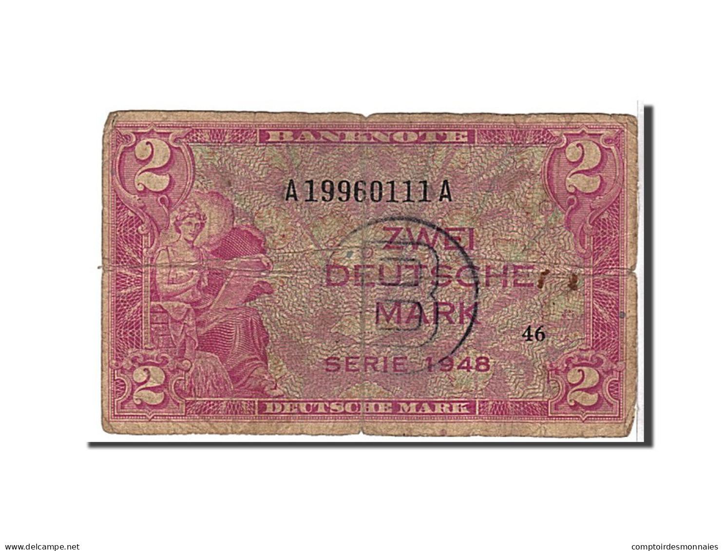 [#109454] Allemagne, 2 Deutsche Mark Type 1948 - Autres