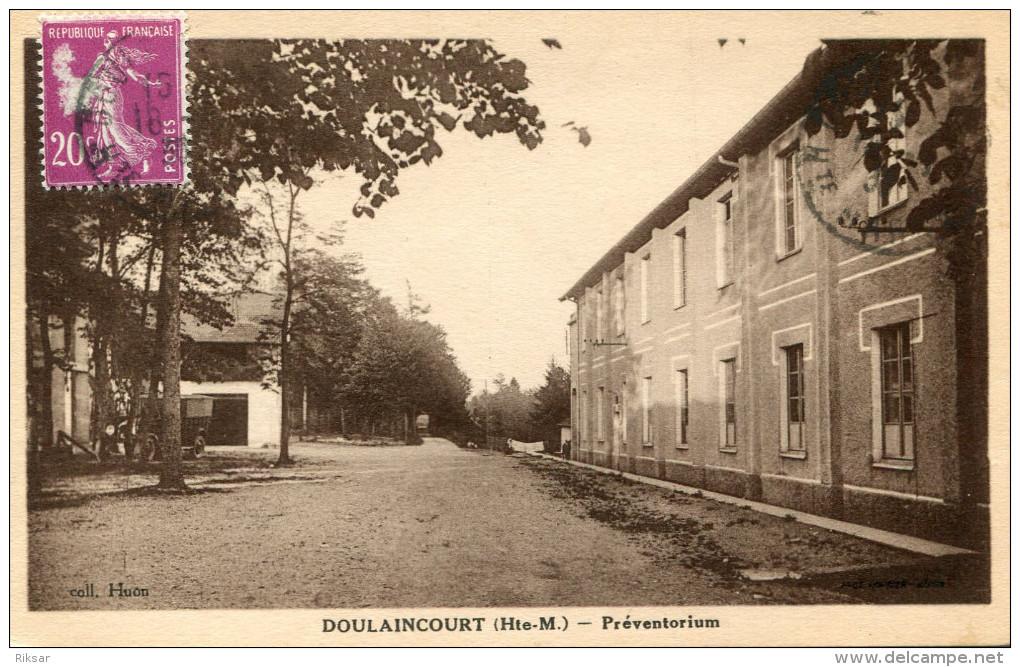 DOULAINCOURT(HAUTE MARNE) - Doulaincourt