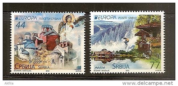 Serbia, 2012, Europa-CEPT, MNH (**) - 2012