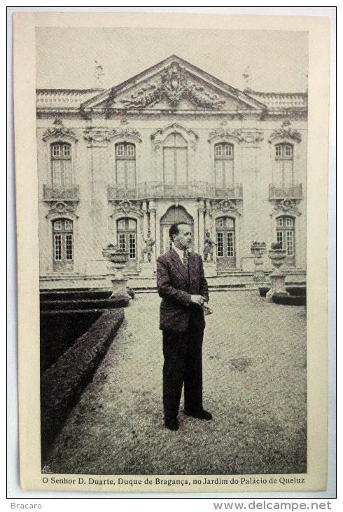PORTUGAL King Prince Duque Bragança D. DUARTE - Heir Portuguese Crown - Cascais Palace (SEE 2 PHOTOS CAREFULLY) - Familles Royales